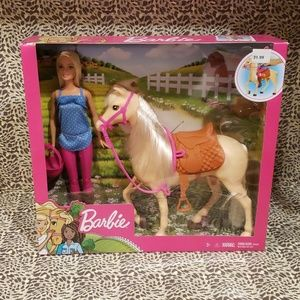 Barbie loves her horse